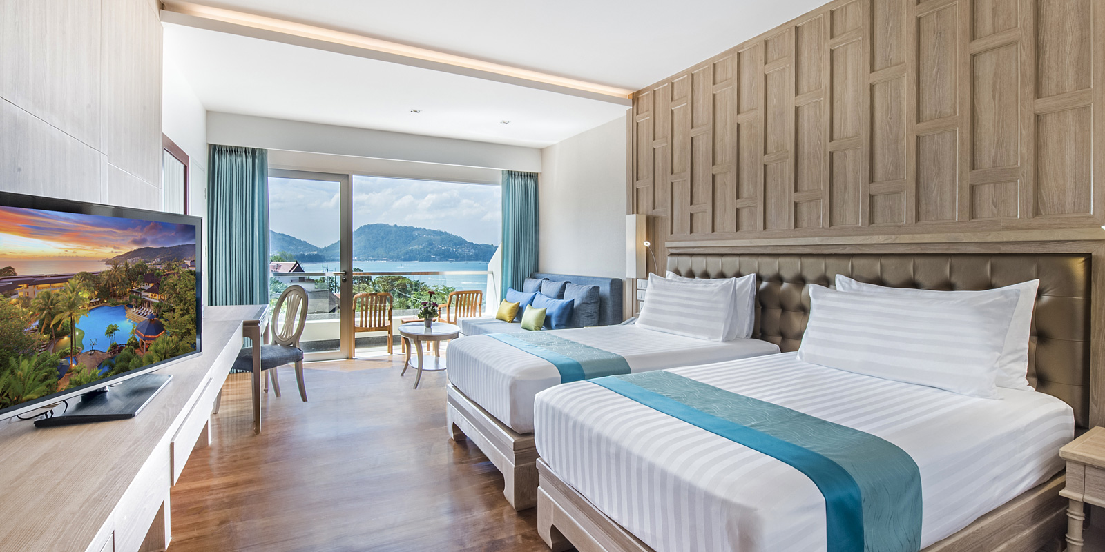 Super Deluxe (Newly Renovated) - Sea view